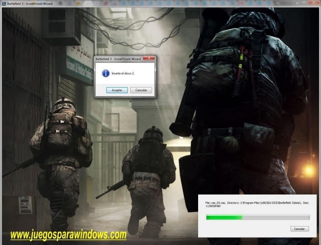 Battlefield 3 PC (Español) 3 DVD5 ISO (Reloaded) Descargar 1