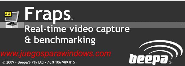 Fraps 3.4.7.13808 (Ingles) Captura Tus Imágenes y Videos De Tus Juegos 2