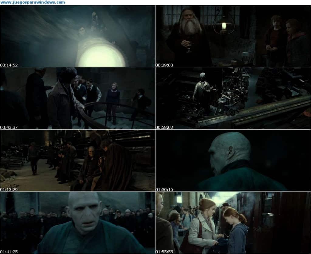 Harry Potter y Las Reliquias de la Muerte Parte 2 DVDRip (2011) Español Latino Descargar 1 Link 2