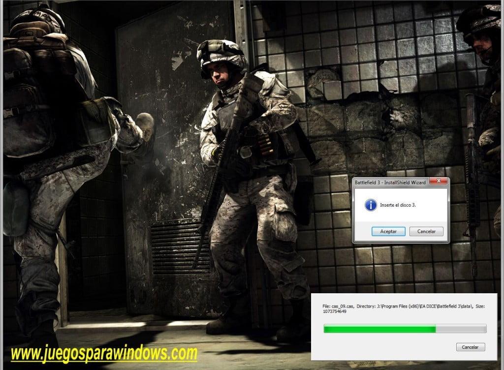 Battlefield 3 PC (Español) 3 DVD5 ISO (Reloaded) Descargar 2