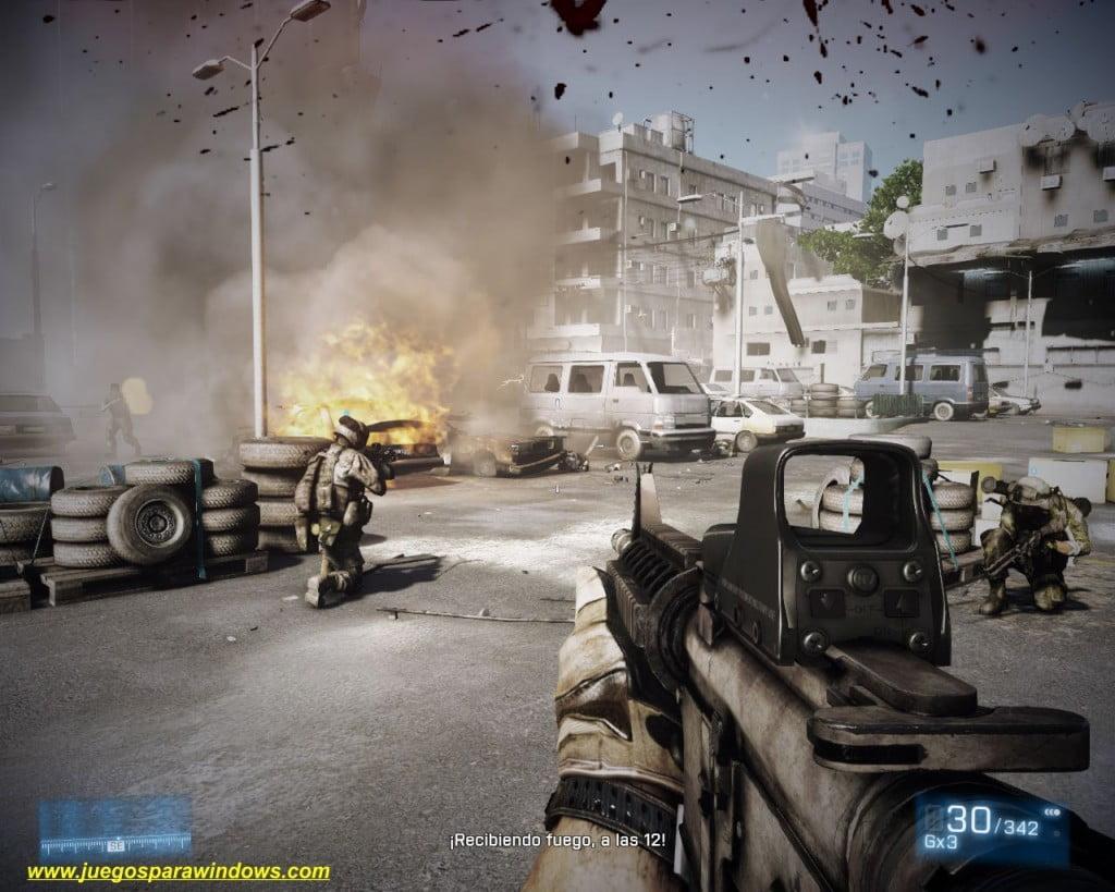 Battlefield 3 PC (Español) 3 DVD5 ISO (Reloaded) Descargar 6