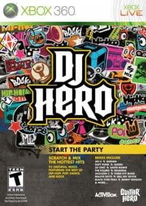 Caratula DJ Hero XBOX 360