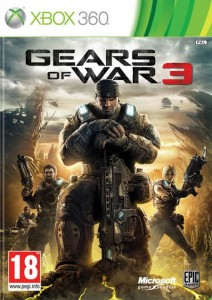 Caratula Gears Of War 3 XBOX 360