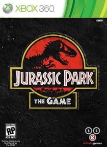 Cover Caratula Jurassic Park The Game XBOX 360