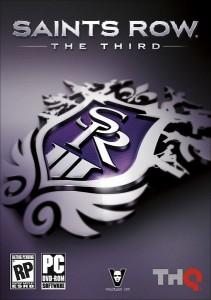 caratula Saints Row The Third PC
