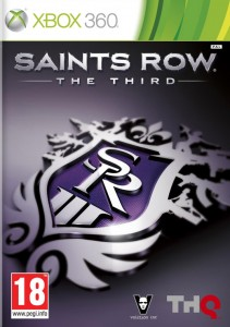 caratula Saints Row The Third XBOX 360