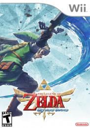 Caratula Cover The Legend of Zelda Skyward Sword