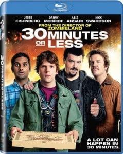 Caratula 30 Minutos O Menos Blu ray