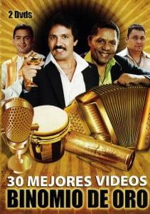 Caratula Cover Los 30 Mejores Videos Binomio De Oro