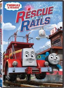 Cover Caratula Thomas & Friends Rescue On The Rails DVD