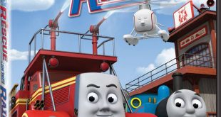 Cover Caratula Thomas & Friends Rescue On The Rails DVD
