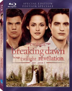 The Twilight Saga Breaking Dawn - Part 1 (2011) Blu-ray