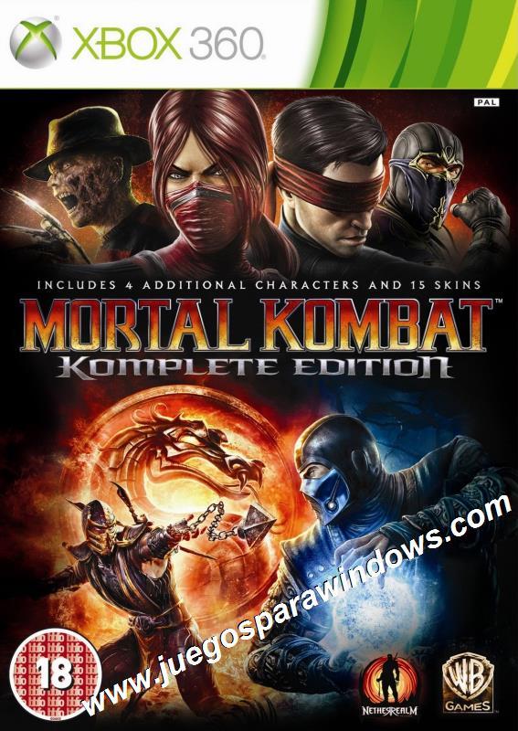 Mortal Kombat Komplete Edition XBOX 360 ESPAÑOL Descargar