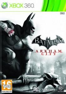 Caratula Cover Batman Arkham City XBOX 360