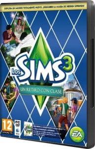 Cover Caratula Los Sims 3 Un Retiro Con Clase Hidden Springs PC