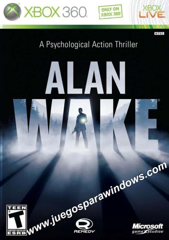 Alan Wake XBOX 360 ESPAÑOL Descargar