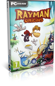Cover Caratula Rayman Origins PC Windows
