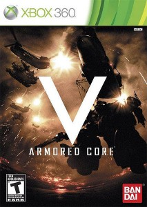Cover Caratula Armored Core V XBOX 360