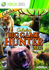 Cover Caratula Cabela's Big Game Hunter 2012 XBOX 360