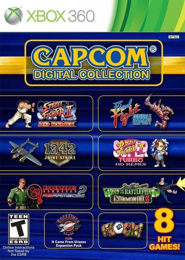 Capcom Digital Collection Region Free Multilenguaje Espanol