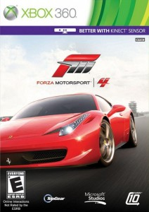Cover Caratula Forza Motorsport 4 XBOX 360