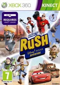 Cover Caratula Kinect Rush A Disney Pixar Adventure XBOX 360
