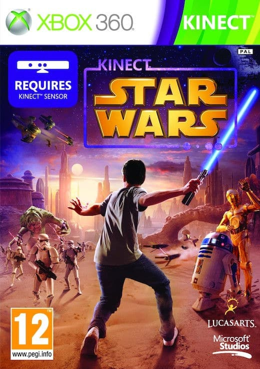 Kinect Star Wars Region Pal Ntsc Multilenguaje Espanol Xbox