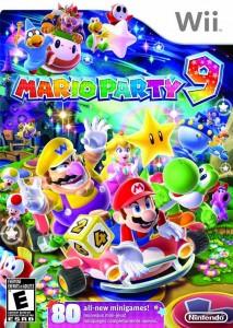 Cover Caratula Mario Party 9 Wii