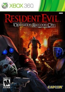 Cover Caratula Resident Evil Operation Raccoon City XBOX 360