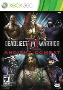 Cover Caratula Deadliest Warrior Ancient Combat XBOX 360