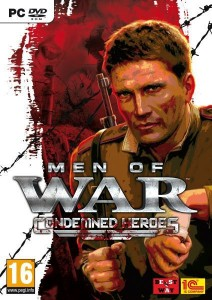 Cover Caratula Men Of War Condemned Heroes PC