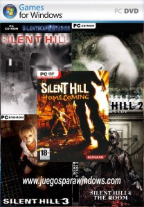 Cover Caratula Silent Hill PC Collection