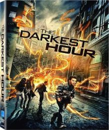 Cover Caratula DVD La Hora Mas Oscura The Darkest Hour