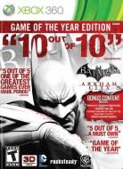 Batman Arkham City Game Of The Year Edition (Region Fre...