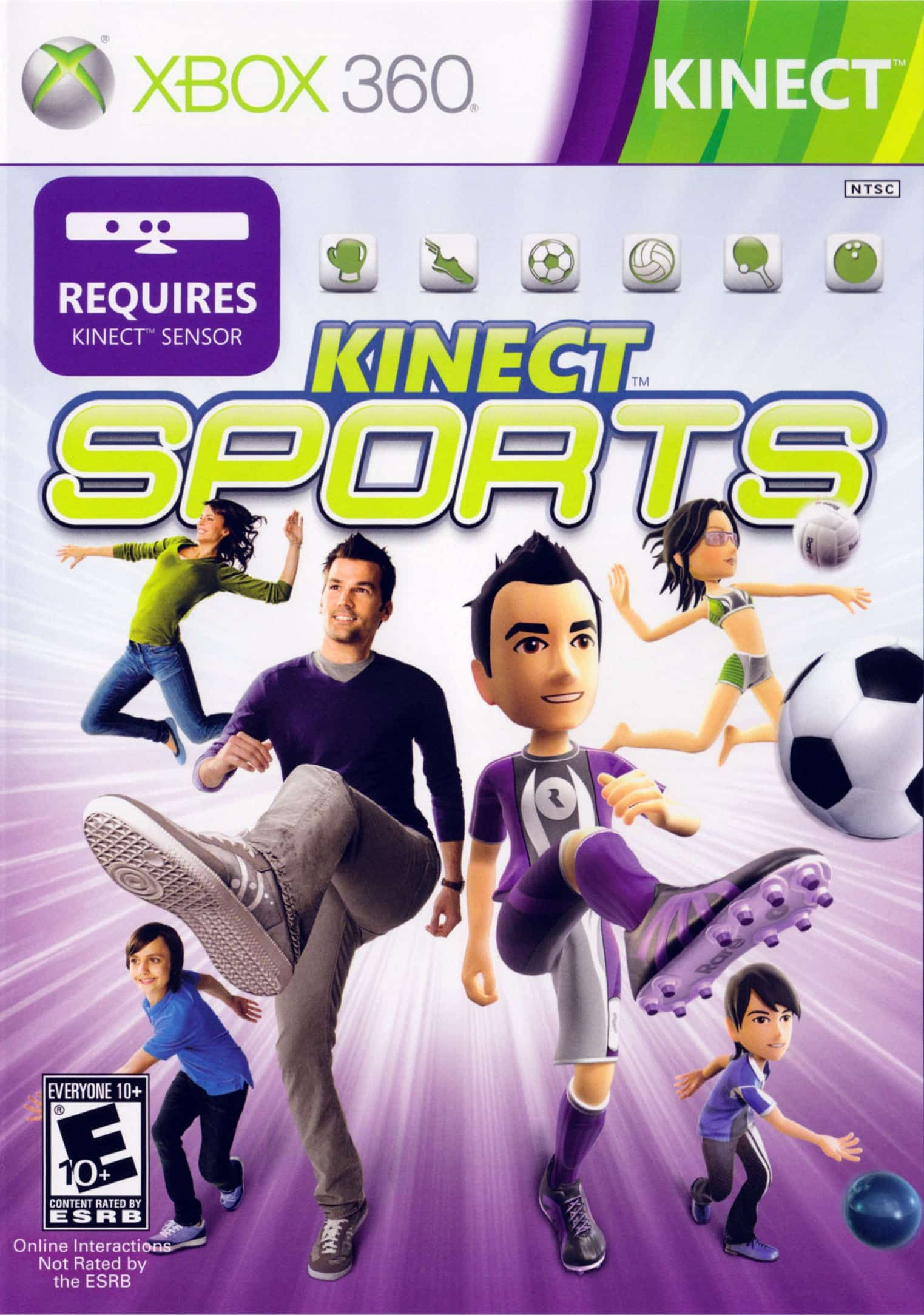 Kinect Sports Region Free Multilenguaje Espanol Xbox 360