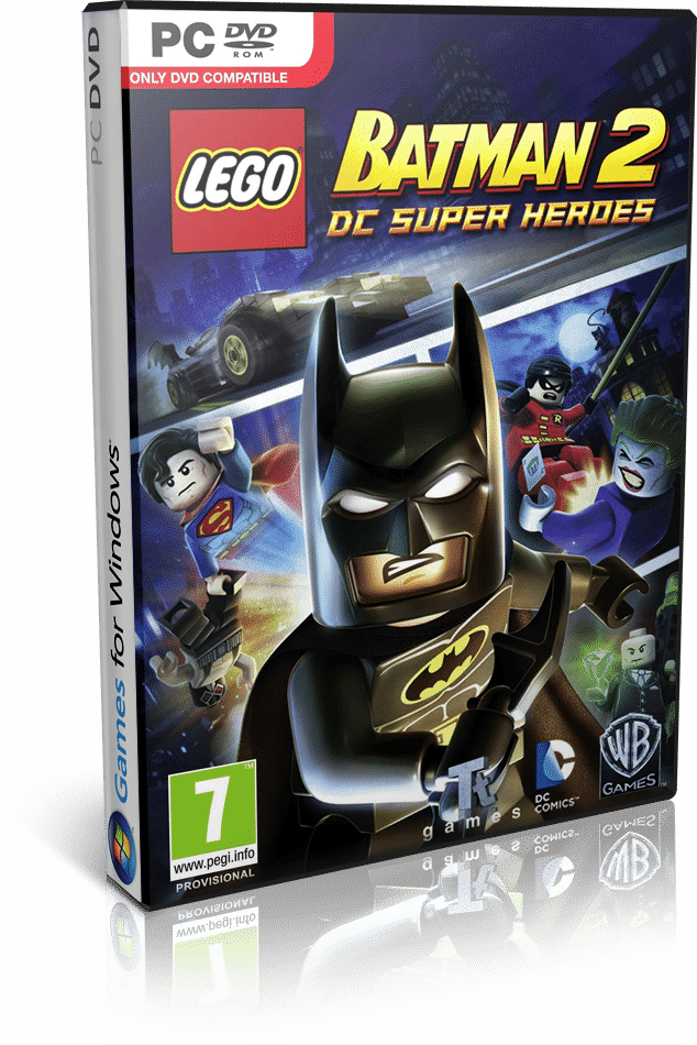 Lego Batman 2 DC Super Heroes (RELOADED) Multilenguaje (ESPAÑOL) PC Descargar Juego Para Windows