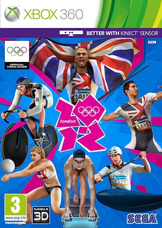 London 2012 Olympics Region Free Multilenguaje Espanol Xbox 360