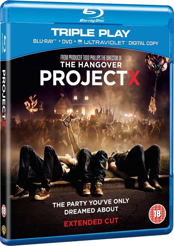 Proyecto X (2012) BRRip HD 720p (Dual Español Latino - ...