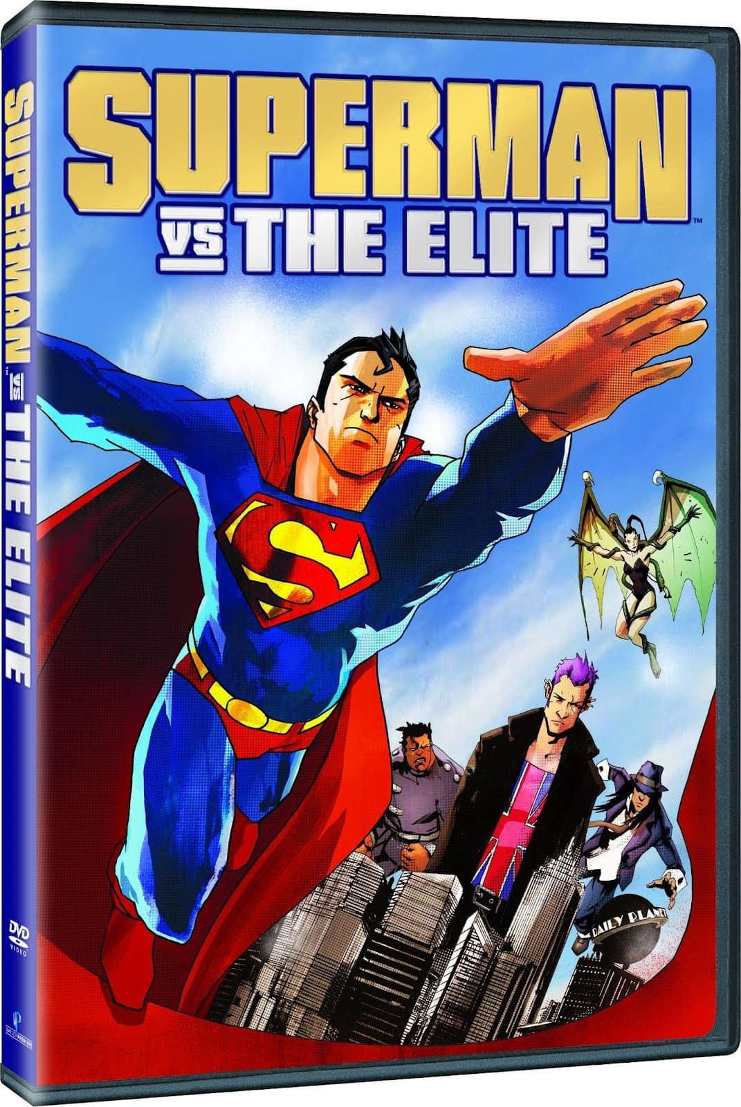 Superman VS La Élite (2012) DVDRip (Español L...