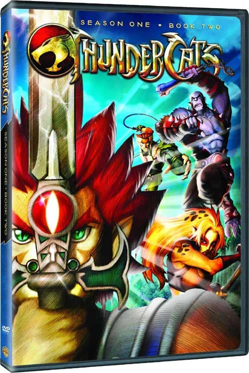 Thundercats (2011) Season One Book 1-2 DVDR (...
