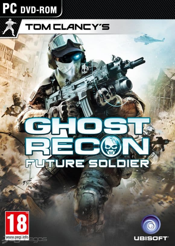 Tom Clancys Ghost Recon Future Soldier (SKIDR...