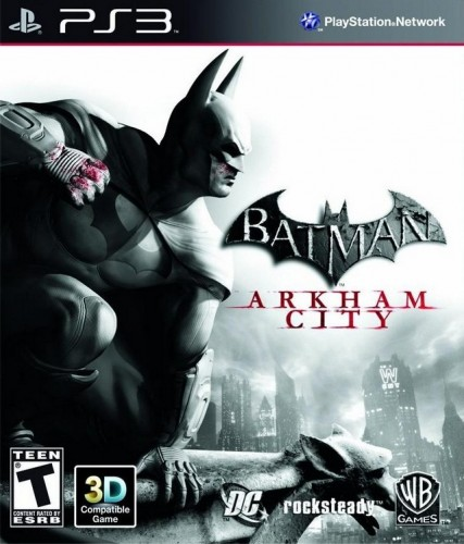 Batman Arkham City + DLC (Fix EBOOT Custom Firmware 3.5...