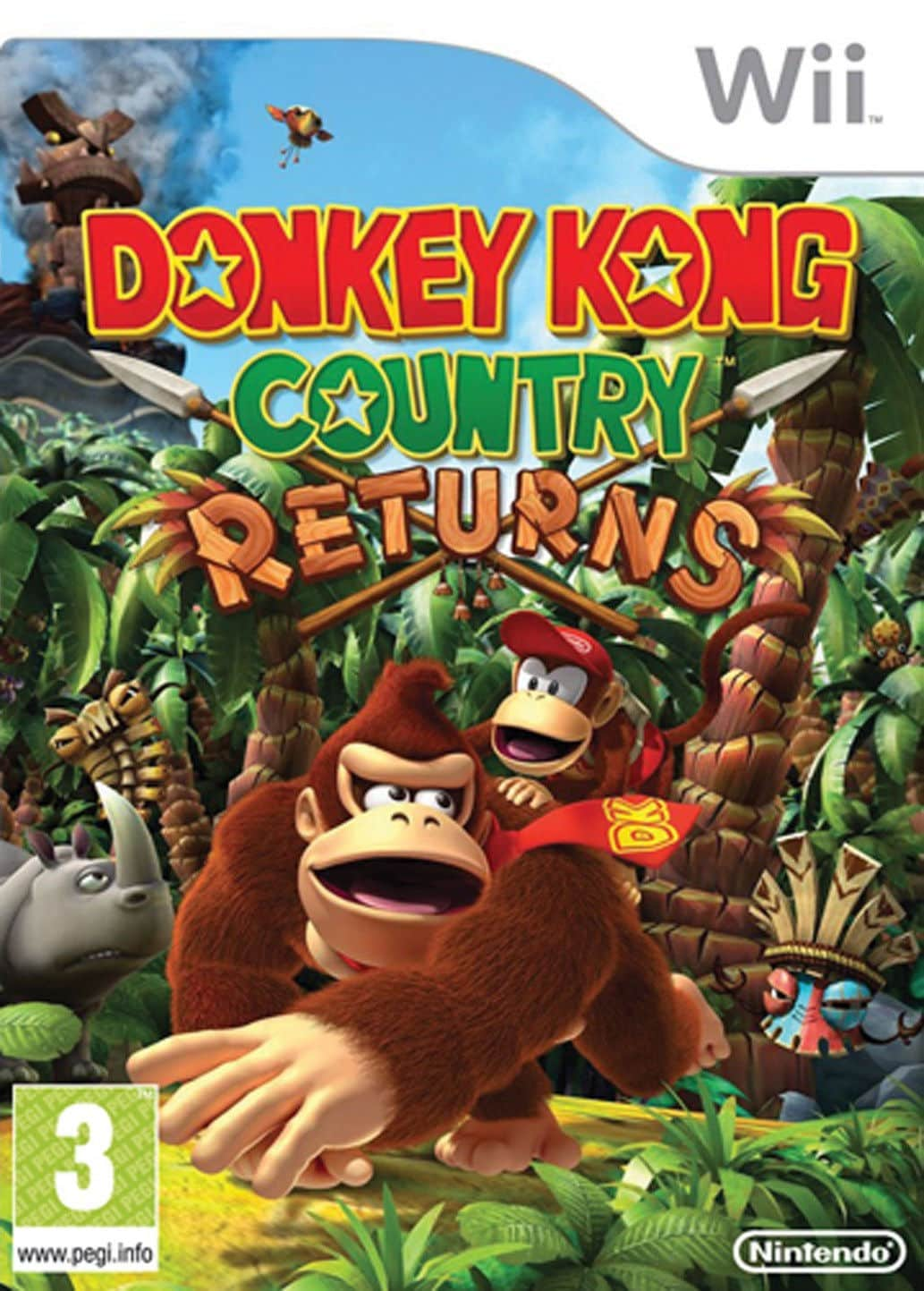 Donkey Kong Country Returns (Region NTSC) ESPAÑOL Ninte...