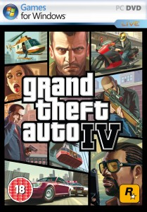 Cover Caratula GTA IV PC Grand Theft Auto IV