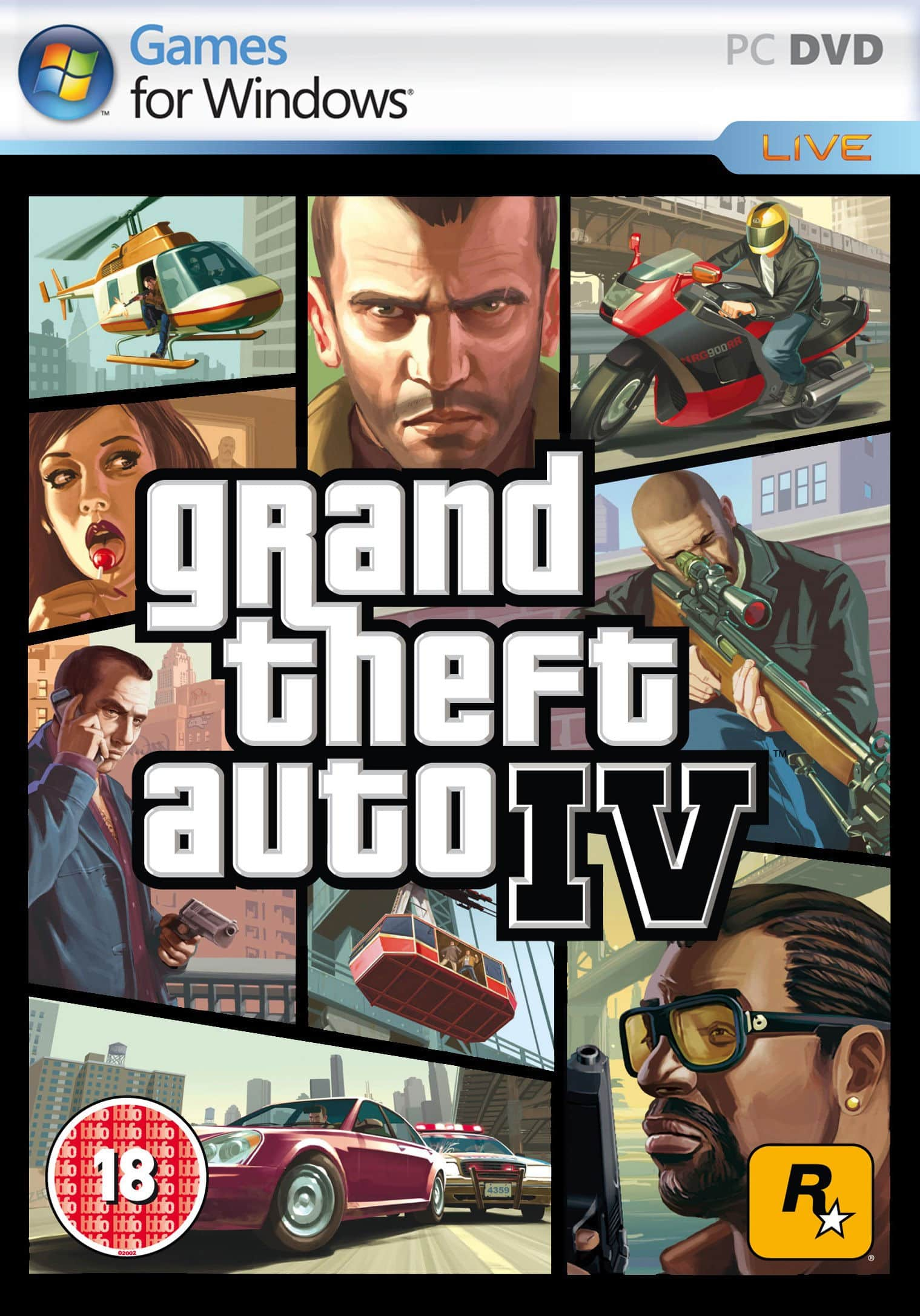 Grand Theft Auto IV (GTA IV) (Razor1911) (4 D...