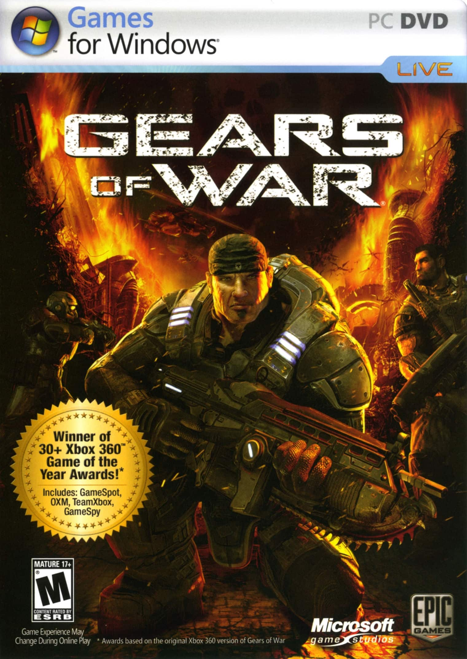 Gears Of War (2 DVD5) PC Español Descargar