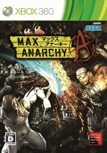 Cover Max Anarchy XBOX 360