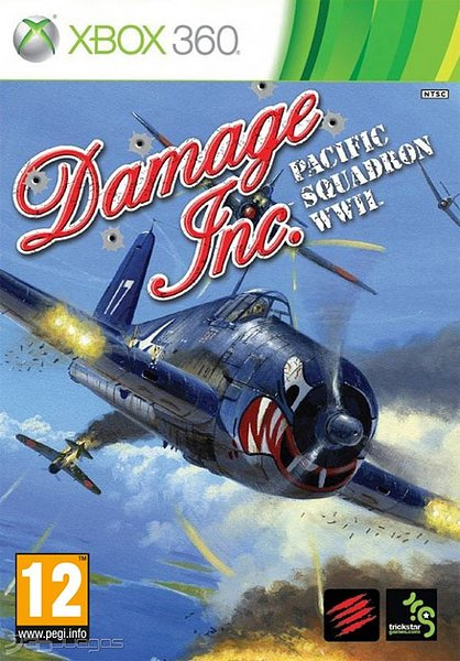 Damage Inc Pacific Squadron WWII (Region NTSC-U/PAL) XB...