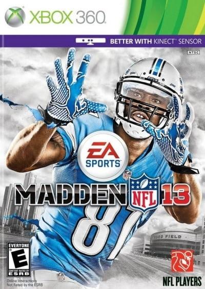 Madden NFL 13 (Region Free) XBOX 360 INGLES D...