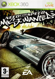 Cover Caratula Need For Speed Most Wanted XBOX 360